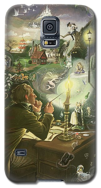 Hans Christian Andersen Galaxy S5 Case by Anne Grahame Johnstone