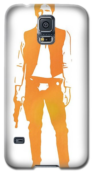 R2-d2 Galaxy S5 Case - Hans Solo Star Wars by Dan Sproul