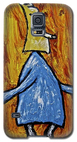 Galaxy S5 Case featuring the painting Happiness 12-004 by Mario Perron