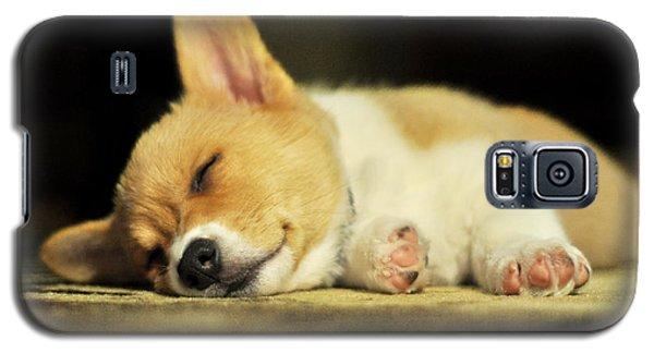 Happiness Is A Warm Corgi Puppy Galaxy S5 Case