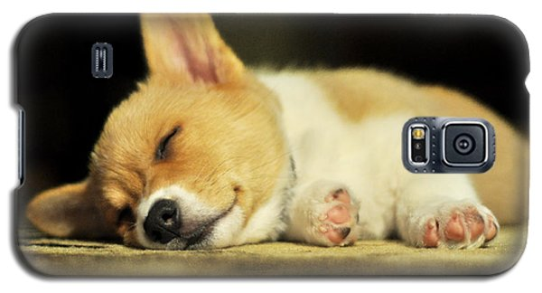 Happiness Is A Warm Corgi Puppy Galaxy S5 Case