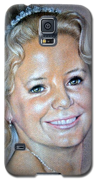 Galaxy S5 Case featuring the painting Happiness by Rosemary Colyer