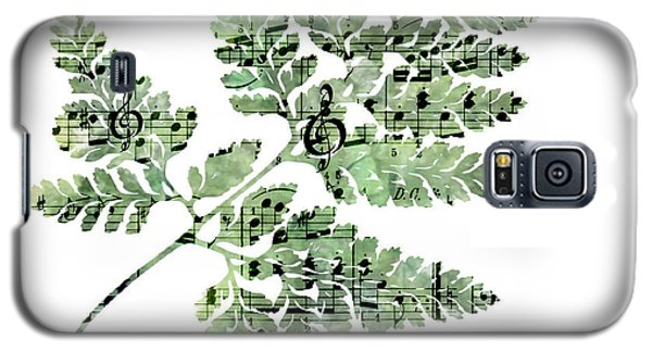Galaxy S5 Case featuring the photograph Happy Adventure Music Fern by Sandra Foster