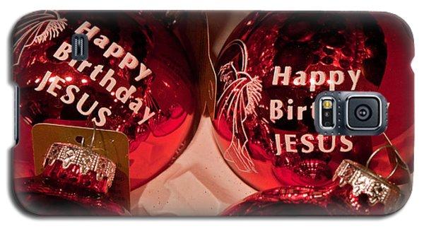 Happy Birthday Jesus Galaxy S5 Case
