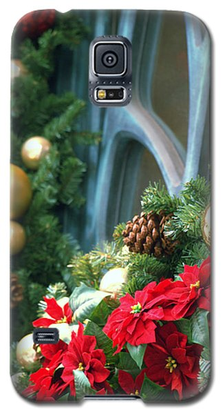 Galaxy S5 Case featuring the photograph Happy Chirstmas by Rachel Mirror