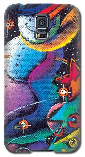 Happy Christmas Galaxy S5 Case