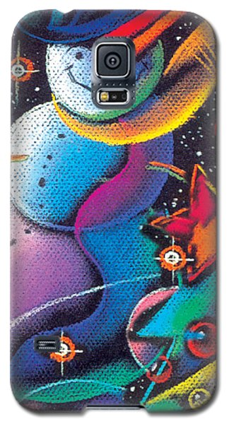 Happy Christmas Galaxy S5 Case
