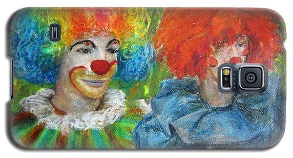 Gemini Clowns Galaxy S5 Case by Jieming Wang