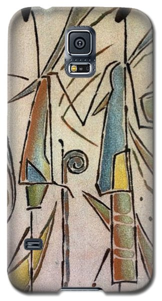 Happy Couple Galaxy S5 Case by Fania Simon