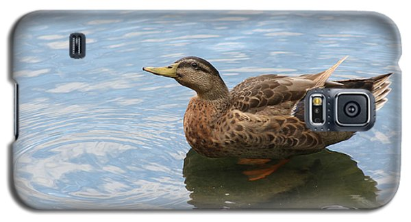 Galaxy S5 Case featuring the photograph Happy Duck by Jeanne Kay Juhos