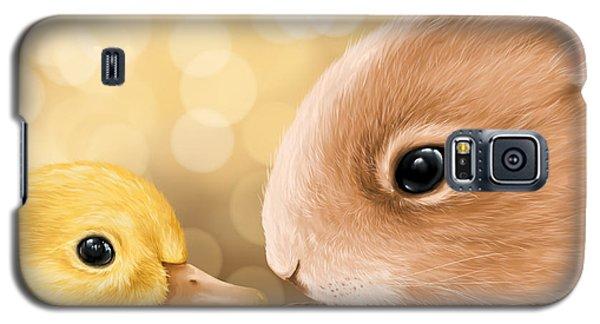 Happy Easter 2014 Galaxy S5 Case by Veronica Minozzi
