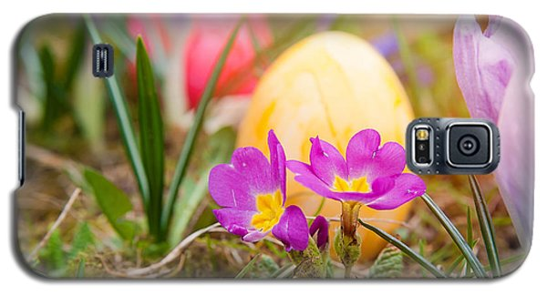 Galaxy S5 Case featuring the photograph Happy Easter by Christine Sponchia