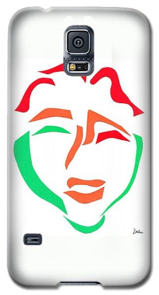 Happy Face Galaxy S5 Case by Delin Colon