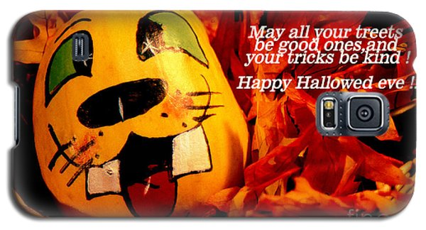 Happy Hallowed Eve Galaxy S5 Case by Gary Brandes