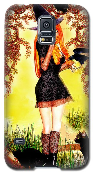 Happy Halloween Cute Witch Galaxy S5 Case