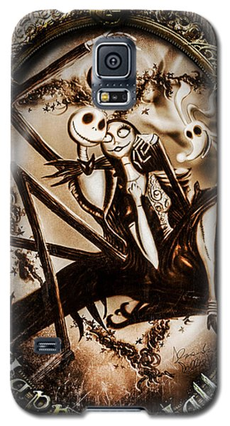 Happy Halloween IIi Sepia Version Galaxy S5 Case