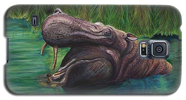 Happy Hippo Galaxy S5 Case