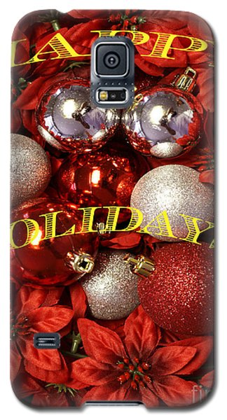 Happy Holidays Galaxy S5 Case by Gary Brandes