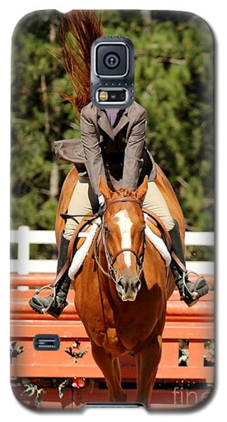 Happy Hunter Horse Galaxy S5 Case