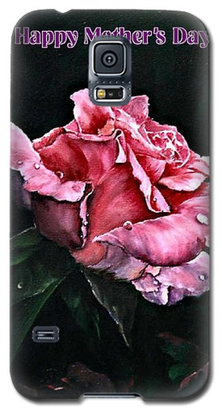 Galaxy S5 Case featuring the painting Happy Mother's Day by Lynne Wright
