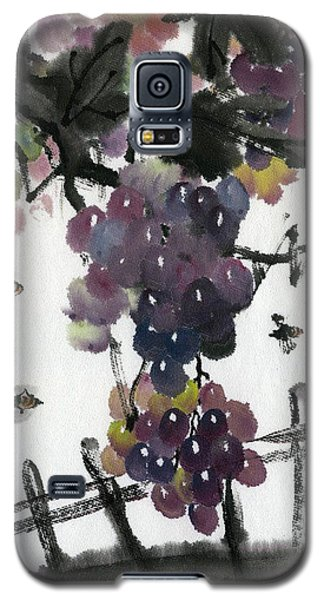 Galaxy S5 Case featuring the painting Longgevity And Prospevity by Ping Yan