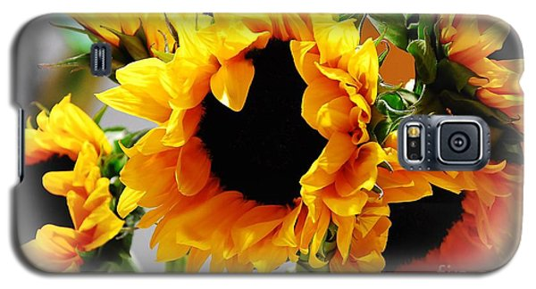 Happy Sunflowers Galaxy S5 Case