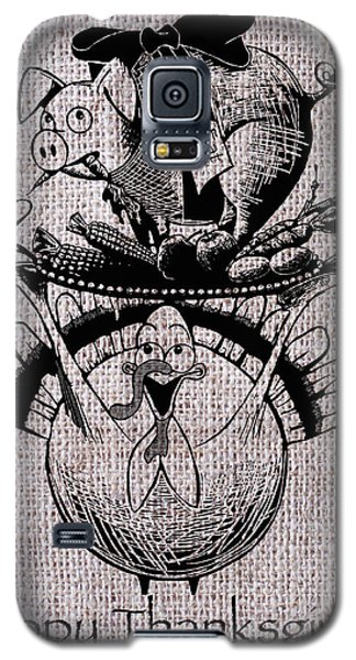 Happy Thanksgiving - Natural Galaxy S5 Case