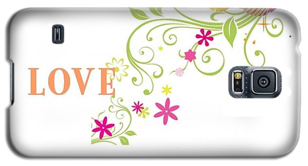 Happy Words Galaxy S5 Case