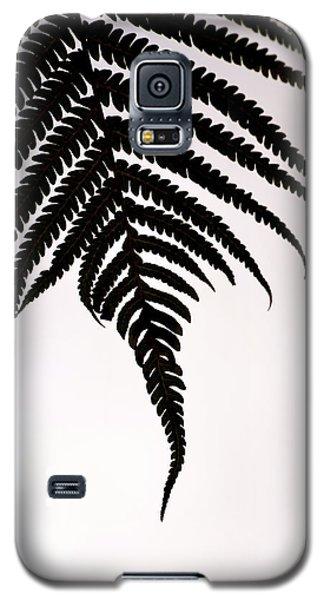 Hapu'u Frond Leaf Silhouette Galaxy S5 Case