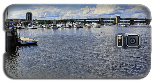 Harbor At Newburyport Ma 3 Galaxy S5 Case by John Hoey