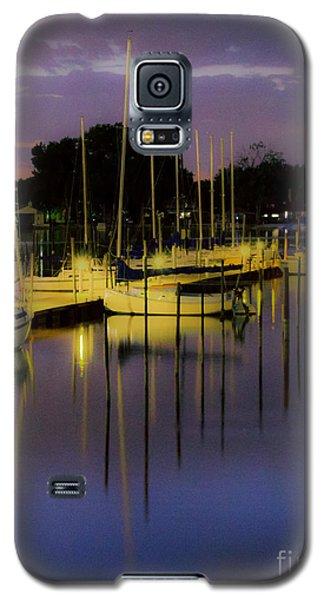 Harbor At Night Galaxy S5 Case
