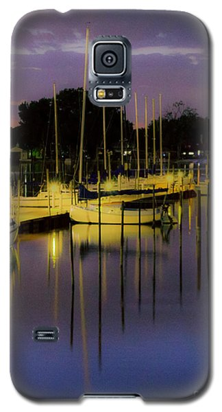 Harbor At Night Galaxy S5 Case