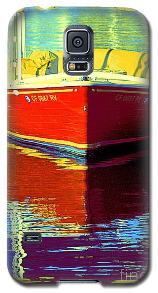 Harbor Boatin Galaxy S5 Case by Joanne Coyle