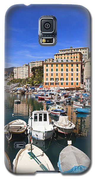 harbor in Camogli - Italy Galaxy S5 Case