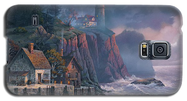 Harbor Light Hideaway Galaxy S5 Case by Michael Humphries