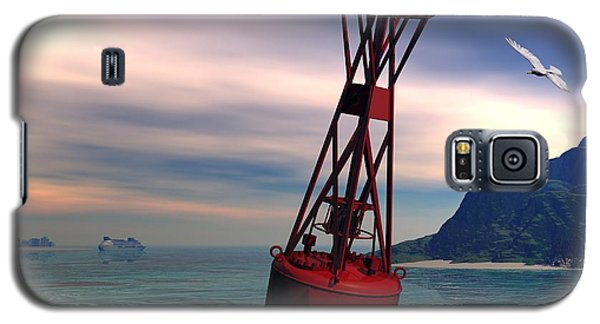 Harbor Light Galaxy S5 Case by John Pangia