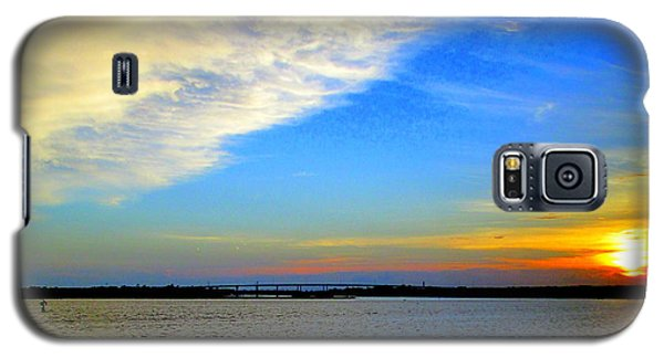Harbor Sunset 2 Galaxy S5 Case by Randall Weidner