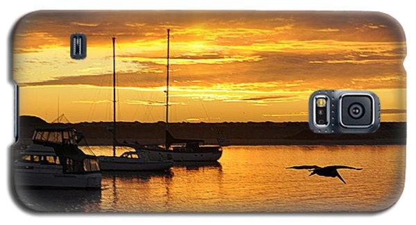 Harbor Sunset Galaxy S5 Case