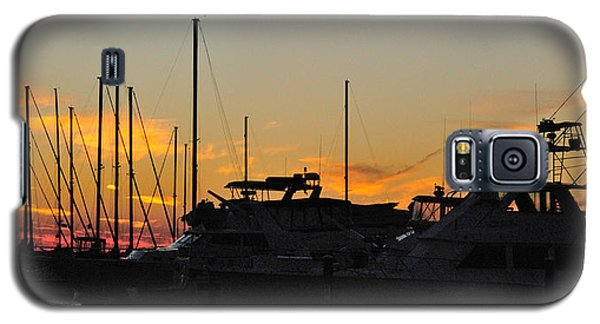 Harbor Sunset Galaxy S5 Case