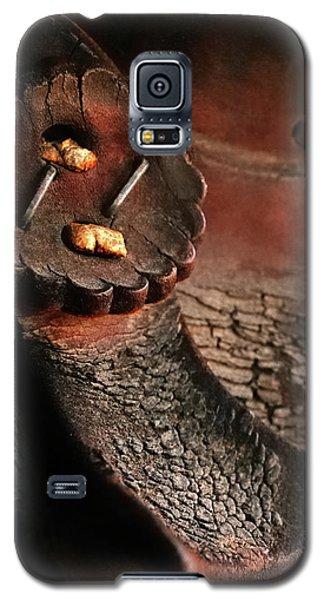 Hard Memories - Old Saddle Galaxy S5 Case
