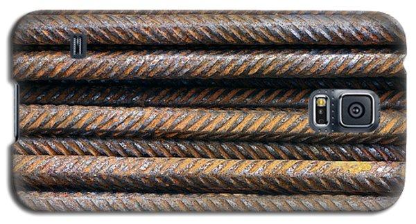 Hard Metal Rebar Pattern Galaxy S5 Case