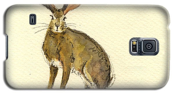 Rabbit Galaxy S5 Case - Hare  by Juan  Bosco