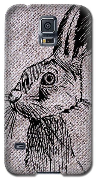 Hare On Burlap Galaxy S5 Case