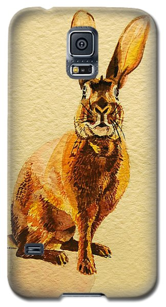 Hare Galaxy S5 Case by Pattie Wall