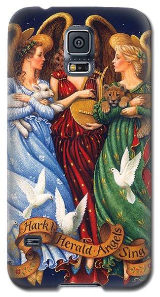 Hark The Herald Angels Sing Galaxy S5 Case