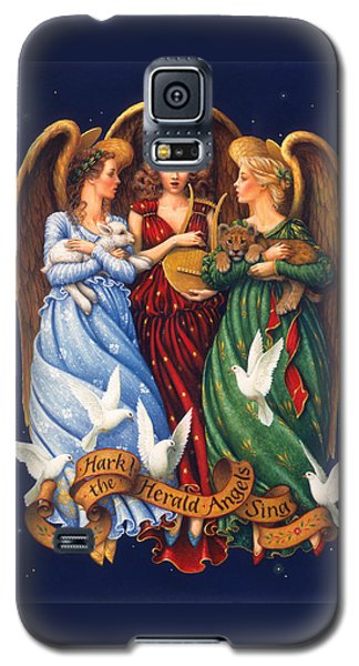 Hark The Herald Angels Sing Galaxy S5 Case