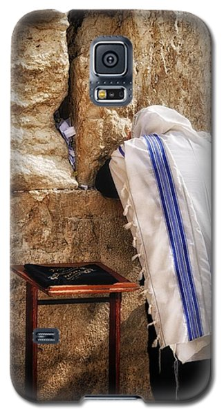 Harken Unto My Prayer O Lord Western Wall Jerusalem Galaxy S5 Case