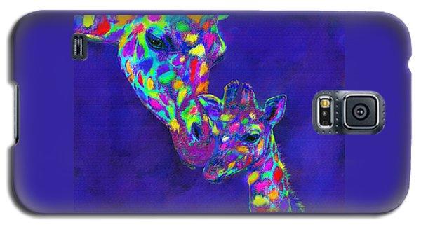 Harlequin Giraffes Galaxy S5 Case by Jane Schnetlage
