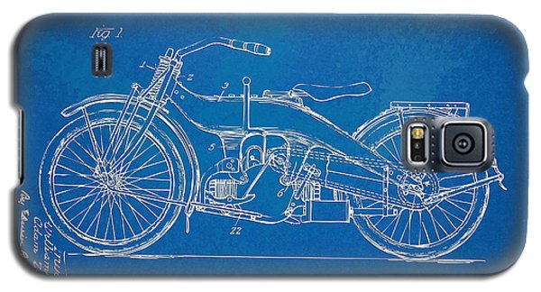 Harley-davidson Motorcycle 1924 Patent Artwork Galaxy S5 Case by Nikki Marie Smith