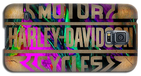 Harley Davidson Motorcycle Galaxy S5 Case by Marvin Blaine